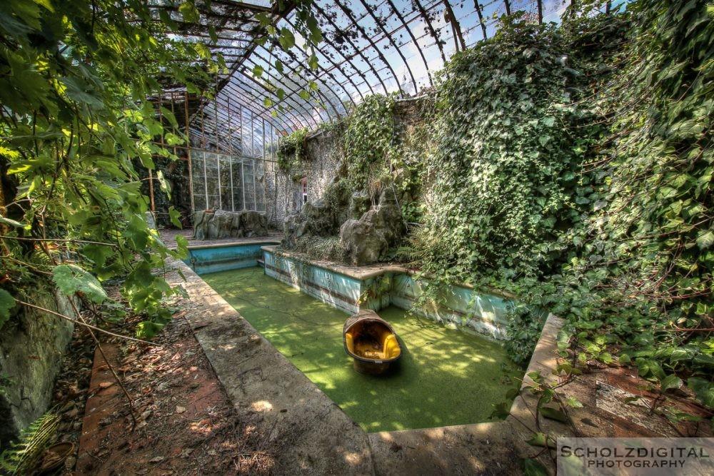 Green World Belgien Lost Place Urbex