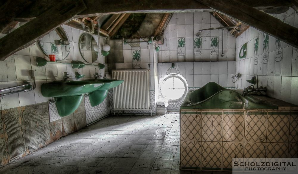 Green World Belgien Lost Place Urbex