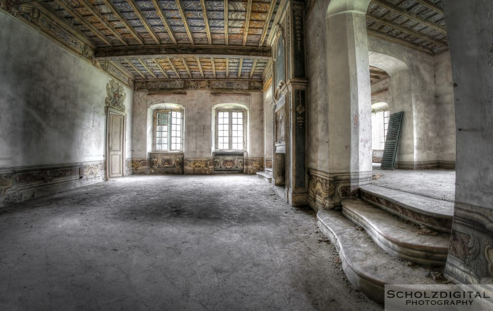 Villa C urbex Italien lost place abandoned italia urban exploration