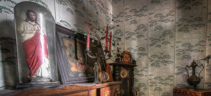 Ferme du Collectionneur, Urbex, lost place in Belgien verlassener Bauernhof Maison