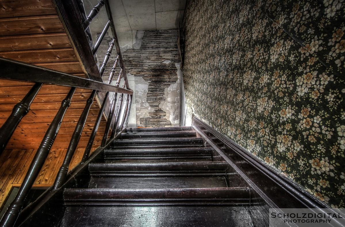 Abandoned, HDR, Lost Place, Maison Mercedes, UE, Urban exploration, Urbex, verlassen, Verlassene Orte, Verlassene Orte in Deutschland, verlaten