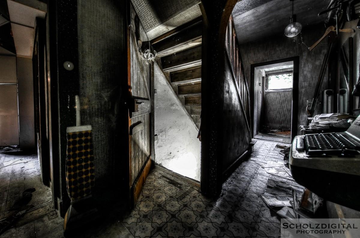 Urbex, Lost Place, HDR, Abandoned, verlassene Orte, verlassen, verlaten, Urban exploration, UE, Maison Paolo Veroneso, Verlassene Orte in Deutschland