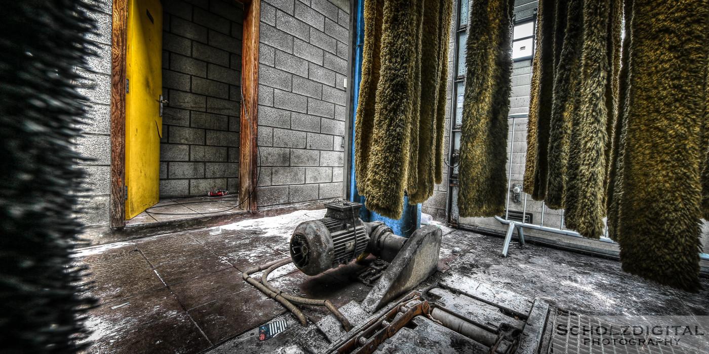 Abandoned, Car Wash, HDR, Lost Place, UE, Urban exploration, Urbex, verlassen, Verlassene Orte, Verlassene Orte in Belgien, verlaten
