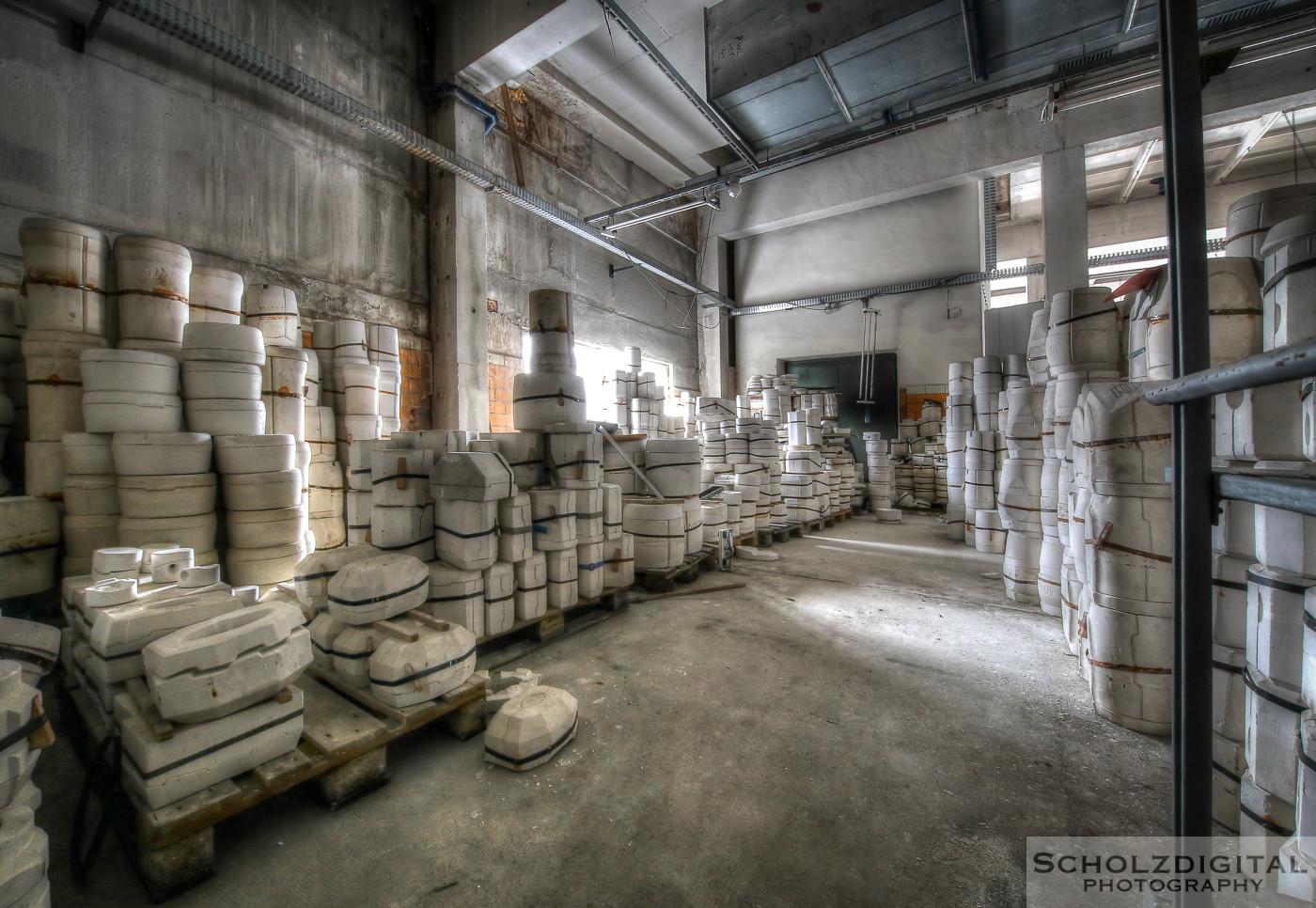 Urbex, Lost Place, HDR, Abandoned, verlassene Orte, verlassen, verlaten, Urban exploration, UE, Verlassene Orte in Deutschland, Porzellanfabrik Pottery,