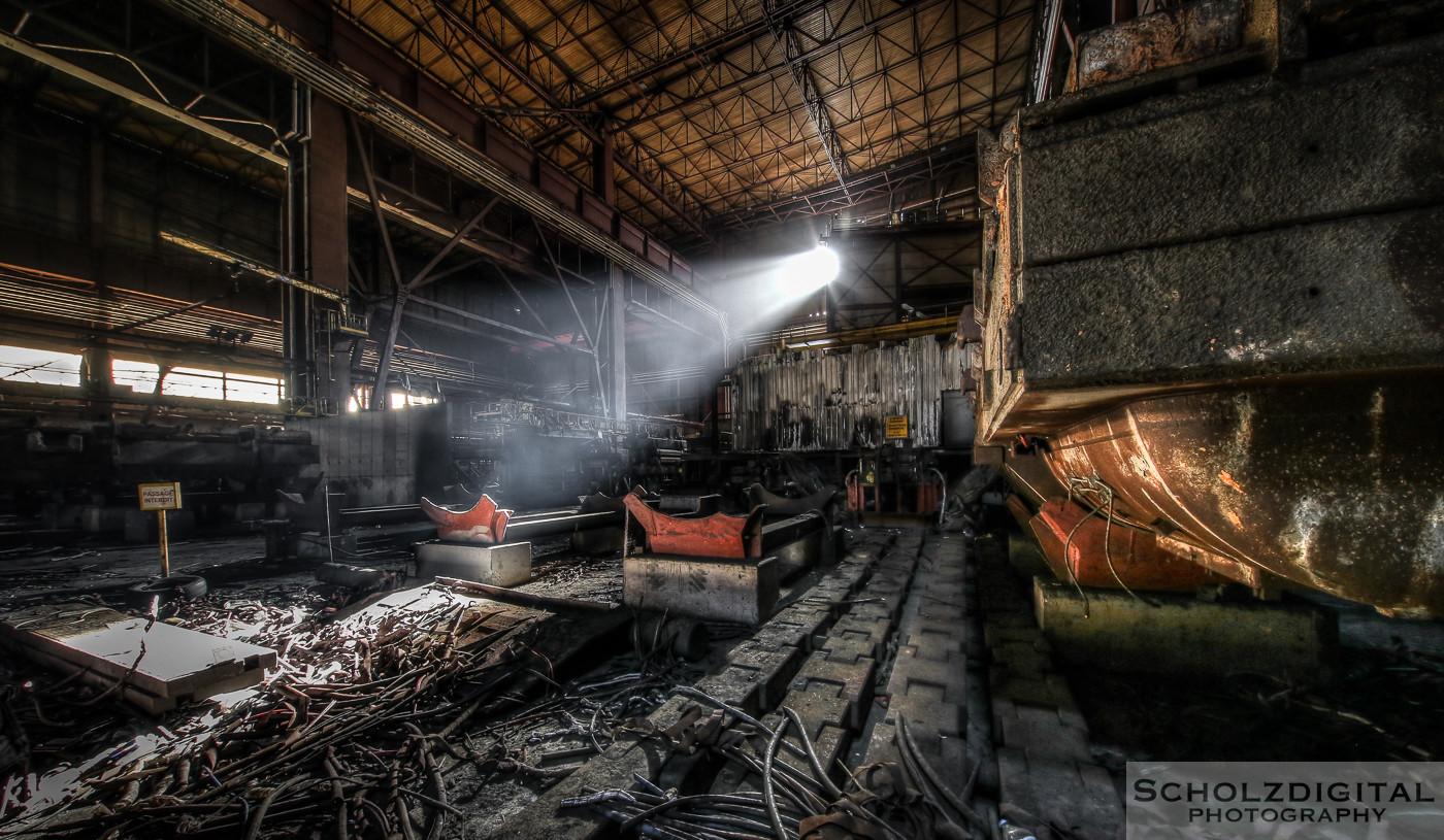 Urbex, Lost Place, HDR, Abandoned, verlassene Orte, verlassen, verlaten, Urban exploration, UE, Verlassene Orte in Belgien, Heavy Metal, Stahlwerk,