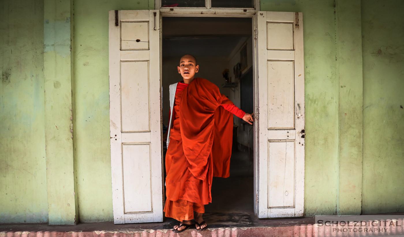 Birma, Buddha,, Burma, Exploring, Monastery, Mönche, Myanmar, Nonnen, Travelling, Explorer, Scholzdigital