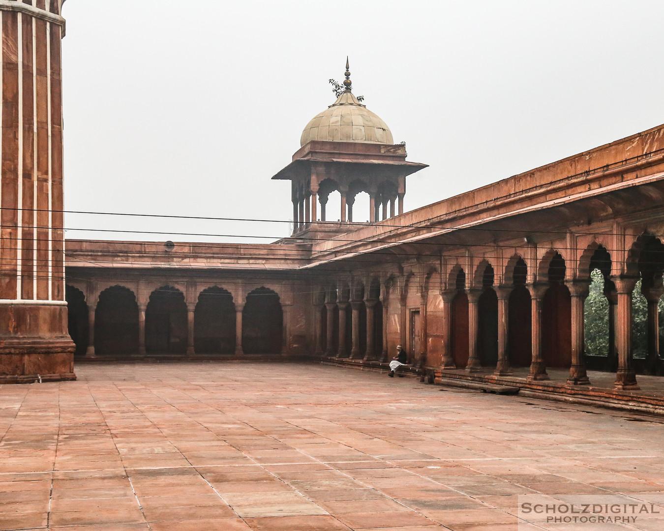 Asien, India, Indien, Jama Masjid in Delhi, Moschee, Shahjahanabad