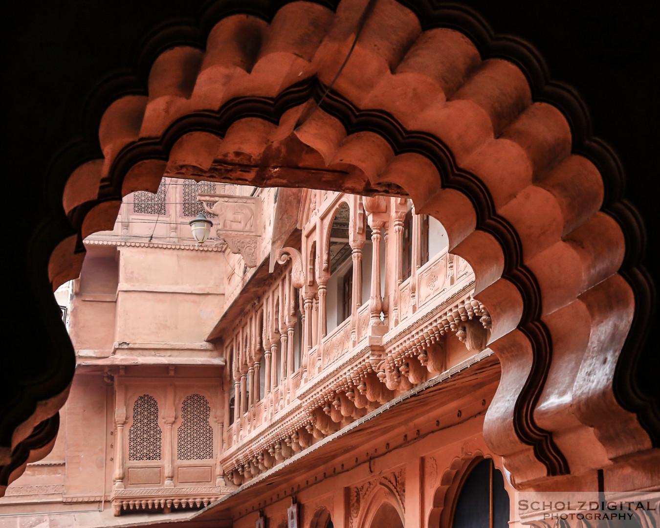 Junagarh Fort, Bikaner, Indien, Rundreise, Asien, Rajasthan,