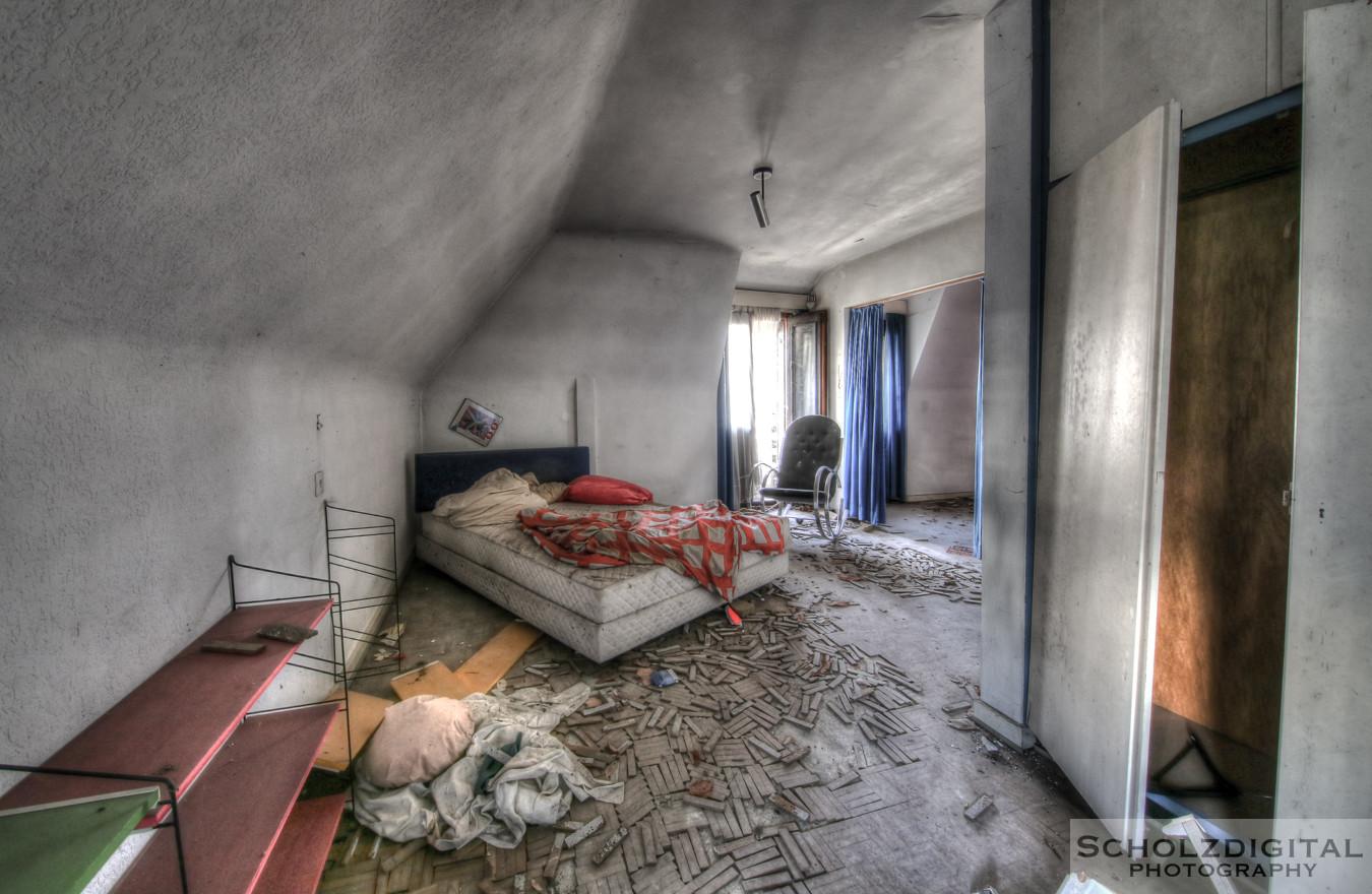 Villa Seaview - urbex im Sauerland Deutschland, verlassene Orte mitten im Wohngebiet