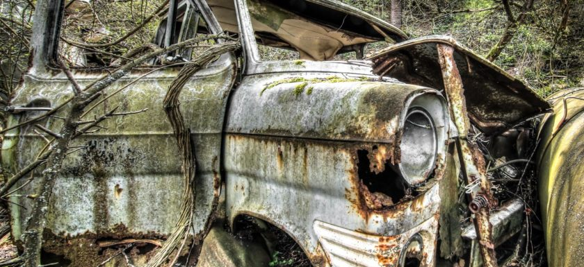 Urbex - verlassene Autos und lost in the forest