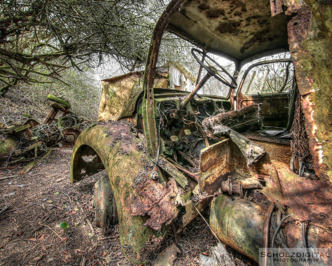 Urbex - verlassene Autos und lost in the forest