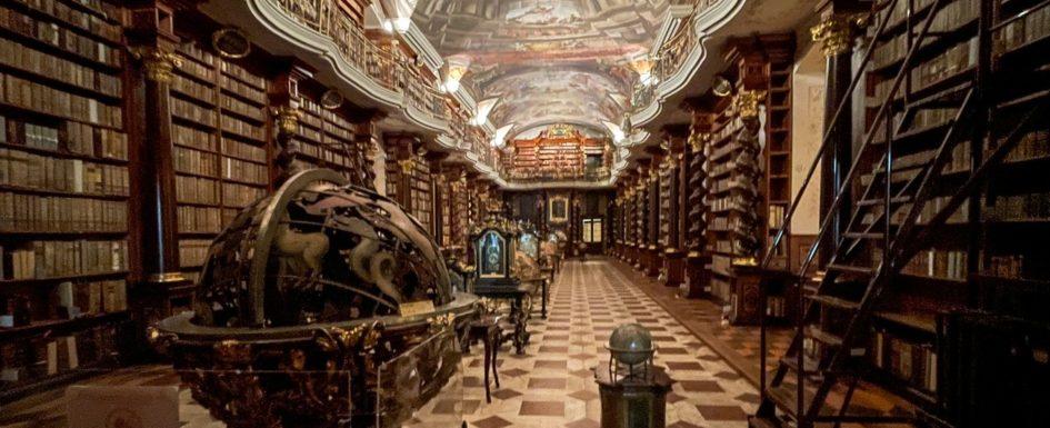 Prag Bibliothek